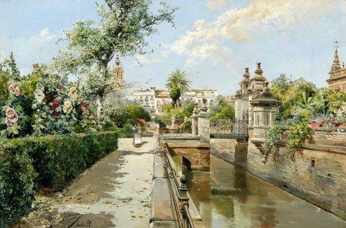 Сад в Севилье