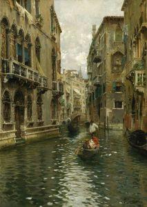 Санторо Рубенс Семейная поездка по венецианскому каналу