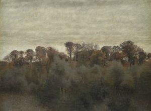 Хаммерсхей Вильгельм Летний пейзаж вблизи озера Фарум