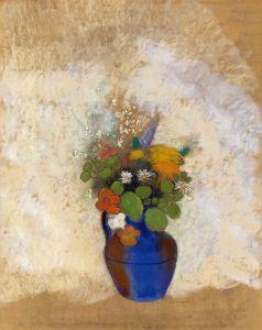 Редон Одилон Цветы в вазе 2
