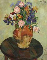 Букет цветов на подставке