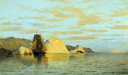 Ледяная блокада на побережье Лабрадора