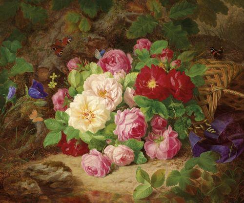 Лесные розы