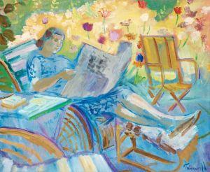 Экспрессионизм Читательница