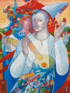 """Украинское современное искусство Из серии """"Казак Мамай"""" - 116"""
