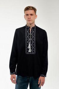 Мужские вышиванки Вышиванка мужская черная
