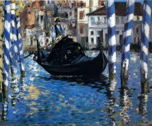 Мане Эдуард Гранд-канал в Венеции (Голубая Венеция)