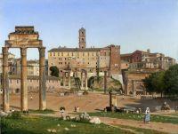 Вид на форум в Риме