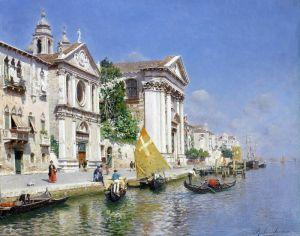 Санторо Рубенс Заттера и церковь Джезуати, Венеция