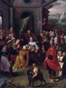 Баллье де Корнелис Старший Поклонение волхвов