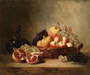Брюнель де Нёвиль Альфред-Артур Натюрморт с фруктами