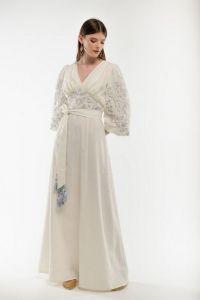 Женские вышиванки Платье вышитое Голубка