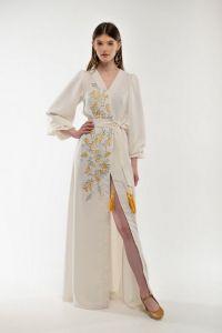 Вишиті сукні Сукня вишиванка Лебідка