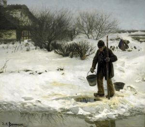 Брендекильде Ганс Андерсен Тающий снег