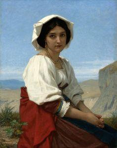 Академізм Італійська дівчина