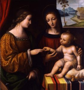 Возрождение Мистическое обручение святой Екатерины