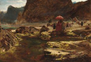 Гудвин Альберт Султан и его лагерь на заколдованном озере