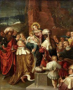 Баллье де Корнелис Старший Поклонение волхвов №2