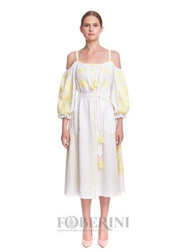 Платье-вышиванка «Жарптица»