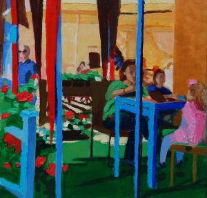 Грицик Марта Синие столы