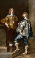 Портрет лорда Джона Стюарта и его брата