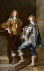 Ван Дейк Антонис Портрет лорда Джона Стюарта и его брата