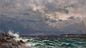 Мунстеръелм Ялмар Бурное море