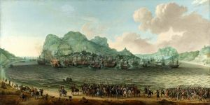 Победа голландцев над испанцами около Гибралтара 25 апреля 1607 №3