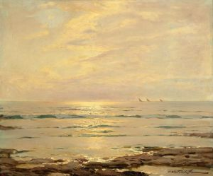 Печатные картины на холсте Морской пейзаж №2