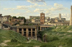 Вид на клоаку Максима, Рим