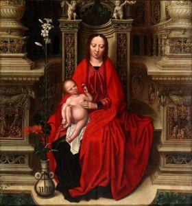 Бенсон Амброзиус Богородица с ребенком