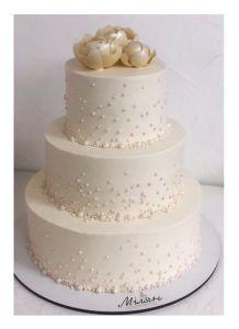 Вкусняшки ручной работы Торт свадебный 3