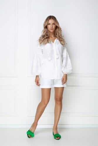 «Тина» белая блуза - изображение 1