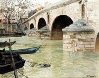 Мост Понт Мари в Париже