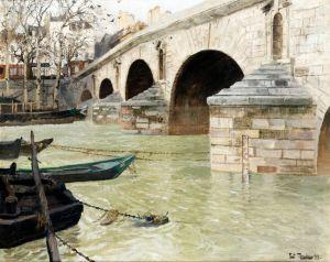 Таулов Фриц Мост Понт Мари в Париже