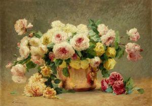 Вернон Эмиль Натюрморт с розами