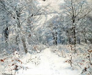 Брендекильде Ганс Андерсен Зимний пейзаж
