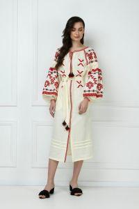 FOBERINI «Тина» кремовое платье