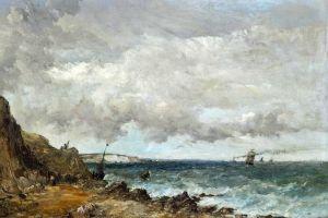 Викерс Альфред Сгущения туч над проливом у острова Уайт