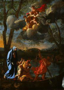 Возвращение святого семейства в Назарет