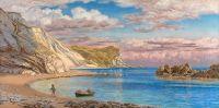 Скалы «Мэн-оф-Вор», побережье Дорсет