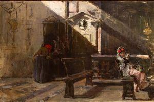 Мадрасо Раймундо Внутри Церкви. Исповедь