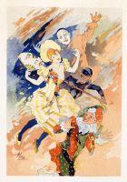 Select Plates from Les Maitres de l Affiche. La Pantomime