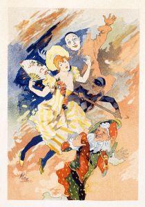 Шере Жюль Select Plates from Les Maitres de l Affiche. La Pantomime