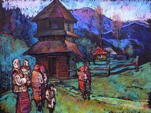 """Гунц Дмитрий Из серии """"Дорогой в горы"""" - 19"""