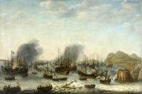 Победа голландцев над испанцами около Гибралтара 25 апреля 1607 №2