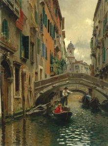 Санторо Рубенс Тихий канал, Венеция