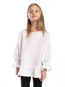 Вышиванки детские Вышиванка для девочки White Flow