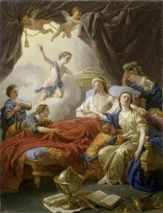 Лагрене Луи Жан-Франсуа Аллегория о смерти Дофина