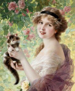 Вернон Эмиль Ее маленький котенок
